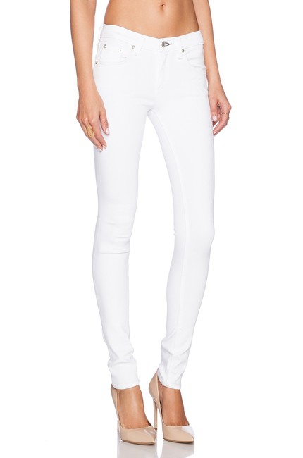 Item - White Light Wash Skinny Jeans Size 28 (4, S)