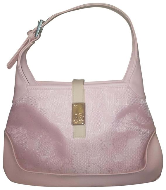 Item - Monogram Pink Canvas Satchel