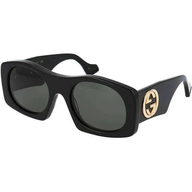 Gucci Black Gg0628s 002 Retro Sunglasses Gucci Black Gg0628s 002 Retro Sunglasses Image 1