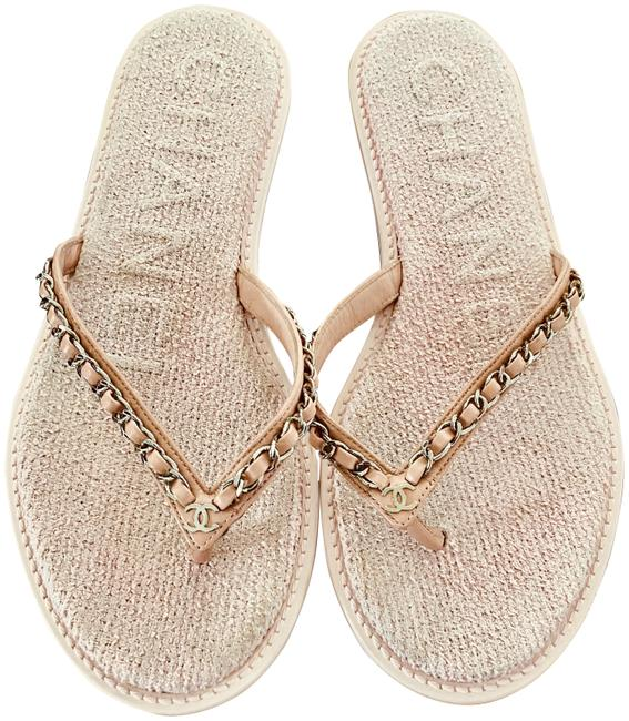 """Item - Pink Sold Out-""""At The Pool"""" Sandals Size US 8 Regular (M, B)"""