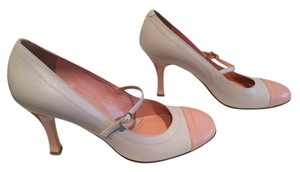 Via Spiga Italian Gray and pink Pumps