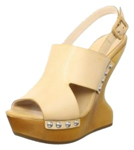 Luxury Rebel Natural Wedges