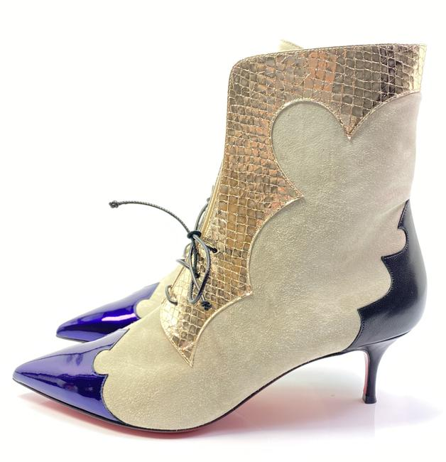 Item - Gray Purple Oteraboot 55 Ankle Boots/Booties Size EU 39.5 (Approx. US 9.5) Regular (M, B)