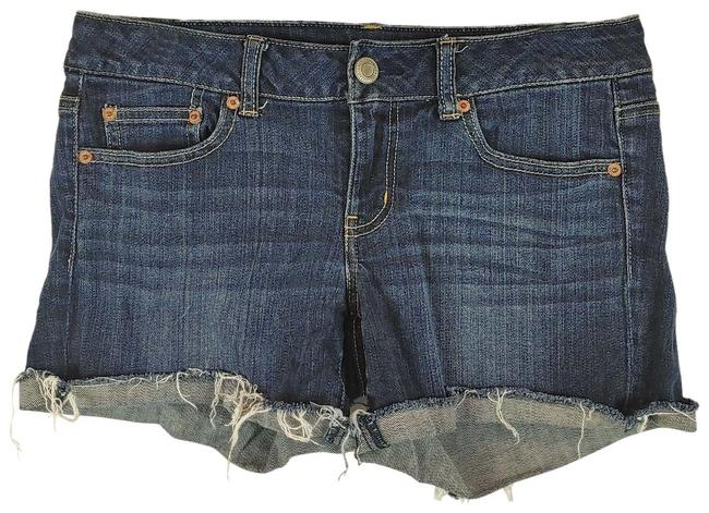 American Eagle Outfitters Blue Stretch Jean Shorts Size 8 (M, 29, 30) American Eagle Outfitters Blue Stretch Jean Shorts Size 8 (M, 29, 30) Image 1