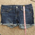 American Eagle Outfitters Blue Stretch Jean Shorts Size 8 (M, 29, 30) American Eagle Outfitters Blue Stretch Jean Shorts Size 8 (M, 29, 30) Image 8