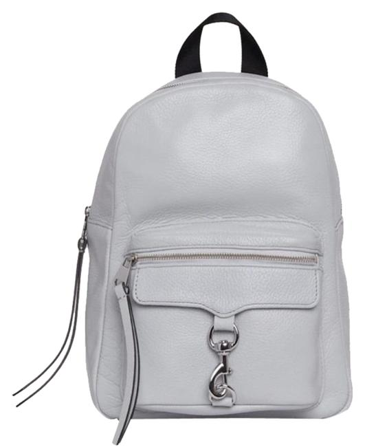 Item - Mini Gray Leather Backpack