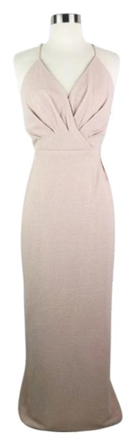 Item - Pink Cream Anthropologie Adrianna Papell Rhodes New Long Formal Dress Size 10 (M)