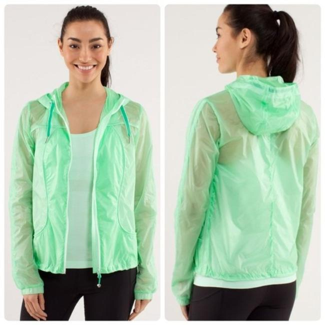 Item - Fresh Teal / Very Green Transparent-sea Activewear Outerwear Size 8 (M)