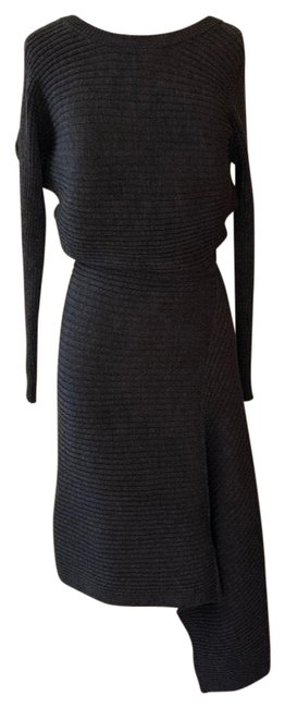 Item - Gray Wd332r Night Out Dress Size 4 (S)