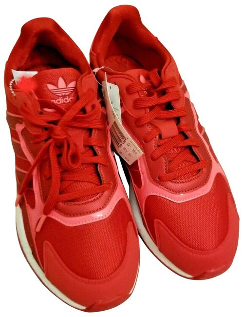 Item - Red Pink White W Run Eh0208 Woman's Sneakers Size US 8.5 Regular (M, B)