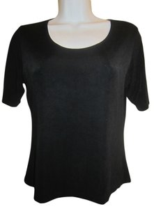 Chico's Top Black Slinky