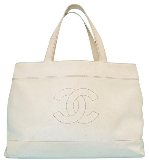 Preload https://img-static.tradesy.com/item/27976729/chanel-shopping-vintage-caviar-leather-cc-wild-stitch-jumbo-carry-on-tote-off-white-weekendtravel-ba-0-1-540-540.jpg