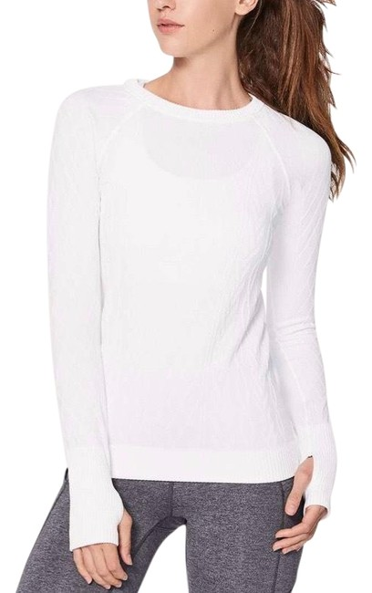 Preload https://img-static.tradesy.com/item/27976783/lululemon-white-white-rest-less-pullover-activewear-top-size-8-m-0-1-650-650.jpg