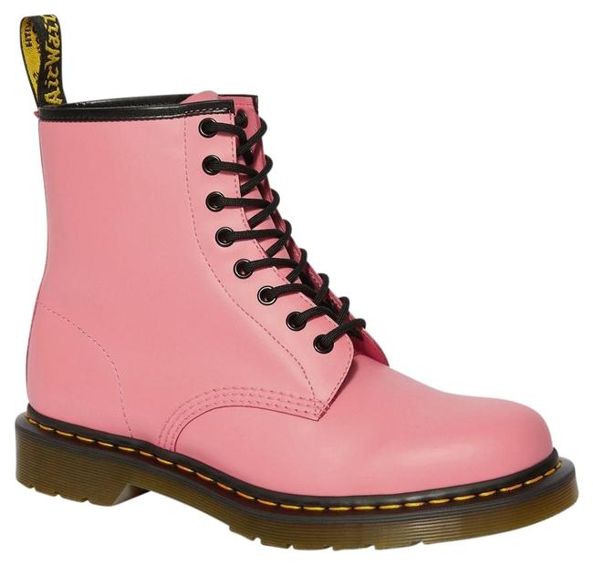 Dr. Martens Pink Women's 1460 Acid Smooth Boots/Booties Size US 7 Regular (M, B) Dr. Martens Pink Women's 1460 Acid Smooth Boots/Booties Size US 7 Regular (M, B) Image 1