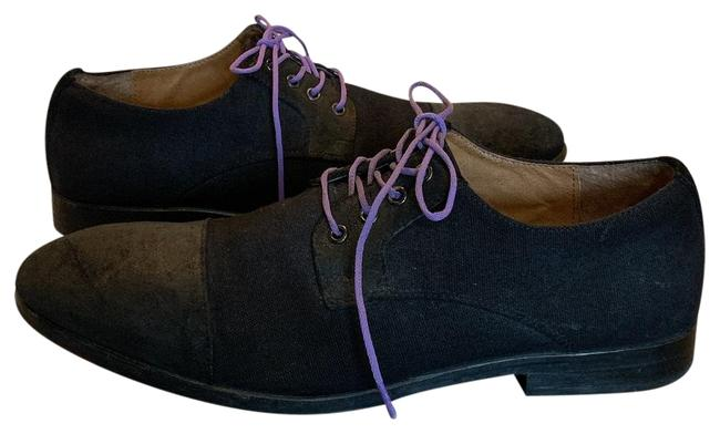 Item - Black/Purple Ave Collection Men's Lace Up Oxford 9.5m Sneakers Size US 9.5 Regular (M, B)