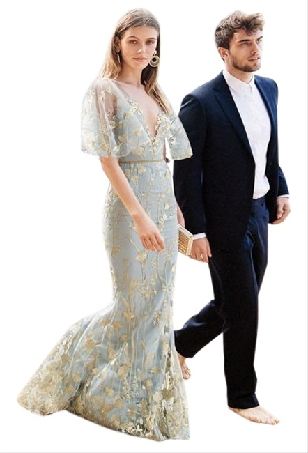 Preload https://img-static.tradesy.com/item/27977204/marchesa-notte-silver-floral-embroidered-mermaid-gown-cape-illusion-long-formal-dress-size-8-m-0-3-650-650.jpg