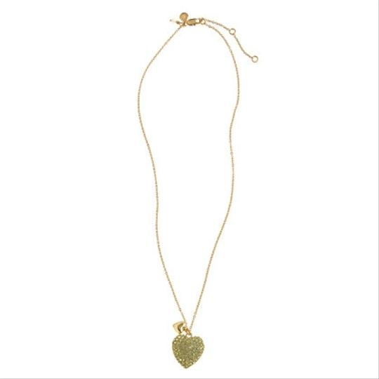 J.Crew J.Crew Crewcuts Pave Double Heart Necklace