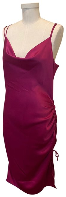 Item - Pink Hot Mid-length Cocktail Dress Size 8 (M)