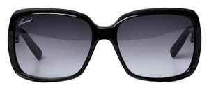 Gucci Gucci GG 3027/S Black Sunglasses with Gradient Gray Lens