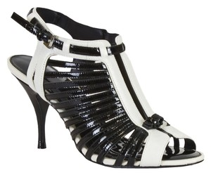 Karen Millen Black/White Sandals
