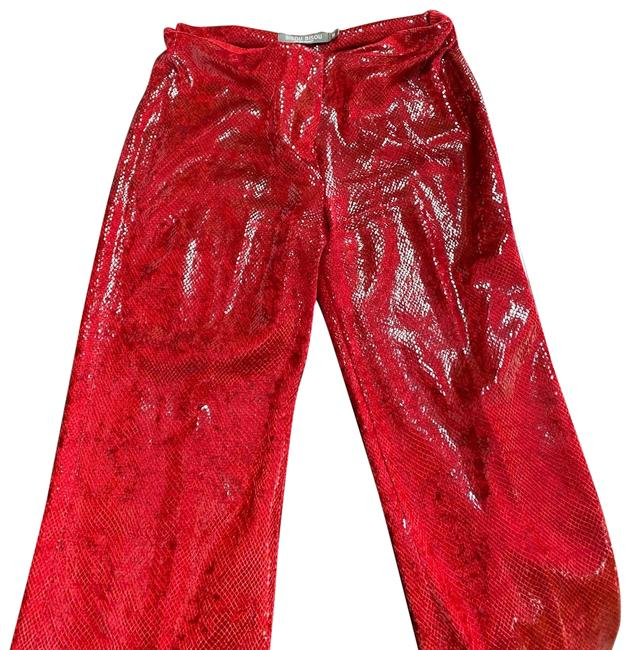Item - Red Snake Pants Size 10 (M, 31)