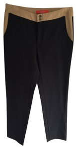 Anthropologie Cartonnier Stretch Casual Work Charlie Anthro Anthro Crop Cropped Crops Capric Capri Black Pencil Pencil Thinning Capri/Cropped Pants
