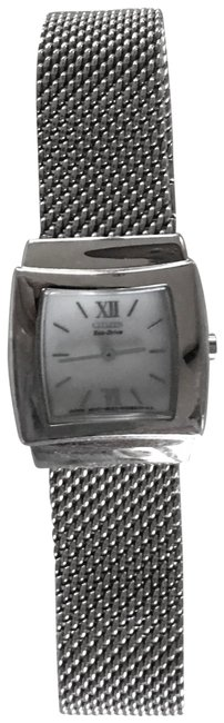 Item - Silver Eco-drive Ladies Sterling Watch