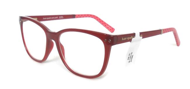 Kate Spade Red/Pink Reading Glasses with Soft Case Joyanne +2.00 Kate Spade Red/Pink Reading Glasses with Soft Case Joyanne +2.00 Image 1