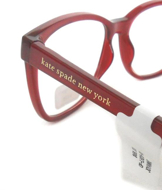 Kate Spade Red/Pink Reading Glasses with Soft Case Joyanne +2.00 Kate Spade Red/Pink Reading Glasses with Soft Case Joyanne +2.00 Image 2