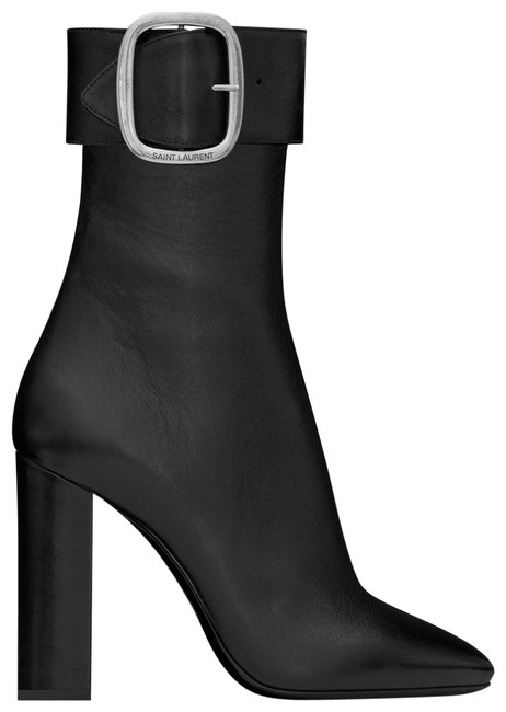 Saint Laurent Ysl Joplin Buckle Leather Boots/Booties Size EU 40 (Approx. US 10) Regular (M, B) Saint Laurent Ysl Joplin Buckle Leather Boots/Booties Size EU 40 (Approx. US 10) Regular (M, B) Image 1
