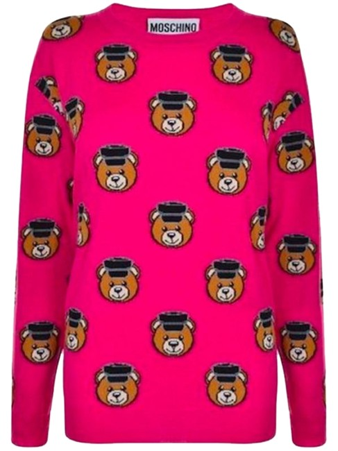 Item - All Over Teddy Bears Policeman Pink Sweater