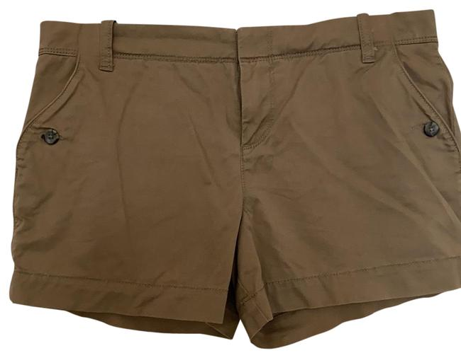 Item - Light Brown Mid Rise Shorts Size 6 (S, 28)