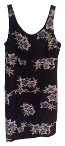 Tommy Bahama short dress Black Purple on Tradesy