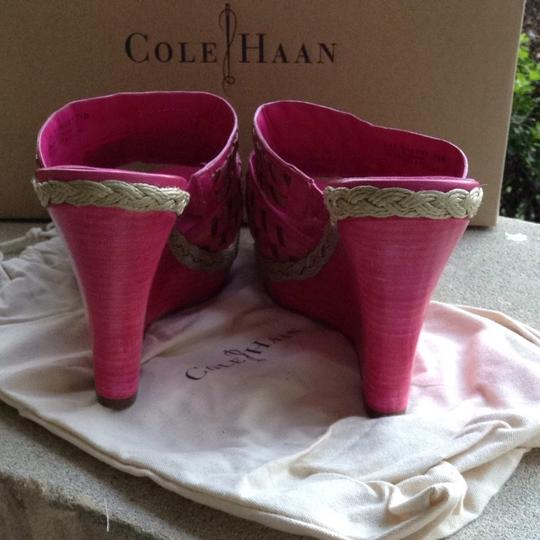 Cole Haan Leather multi Wedges