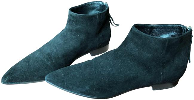 Item - Black Suede Ankle Boots/Booties Size EU 37 (Approx. US 7) Regular (M, B)
