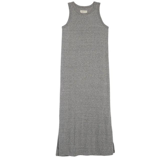 Item - Heather Gray  Nordstrom The Perfect Muscle Tee Si Long Casual Maxi Dress Size 0 (XS)