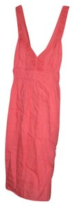 Banana Republic short dress Coral/Pink Summer Summer on Tradesy