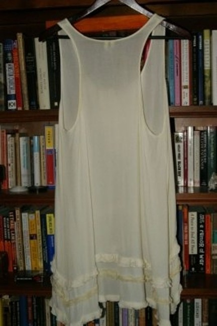 Free People Tunic/Blouse Sleeveless With Pleated Tunic