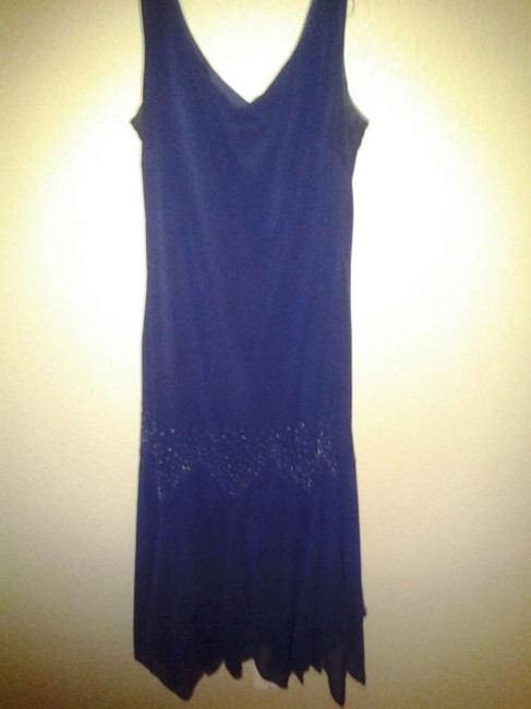S.L. Fashions Embellished Evening Gown Party Dress