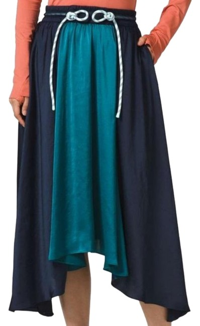 Item - Blue Green Roksanda Face Forward Skirt Size 4 (S, 27)