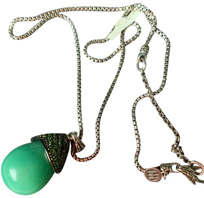 Item - Silver Green Necklace