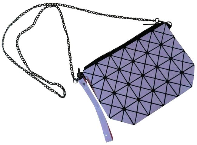 Item - Clutch Pink Synthetic Cross Body Bag