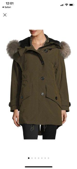 Burberry Dark Olive Ramsford 3-in-1 Parka Jacket Size 6 (S) Burberry Dark Olive Ramsford 3-in-1 Parka Jacket Size 6 (S) Image 1