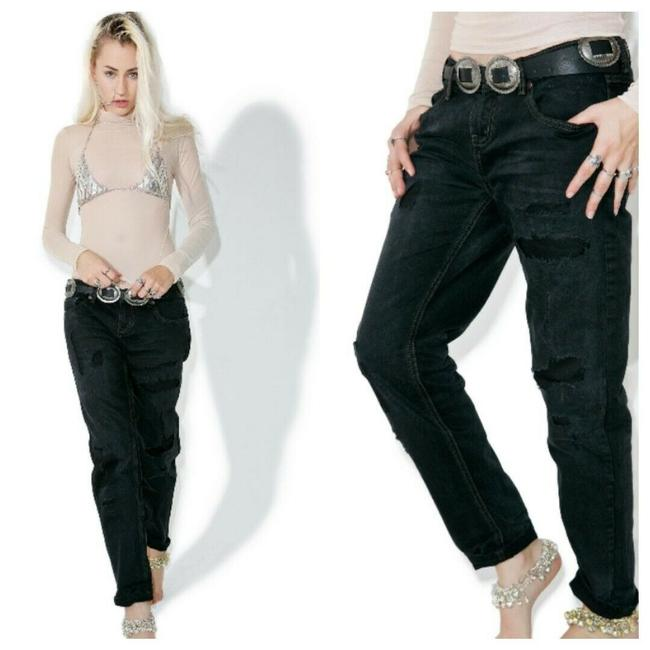 Item - Black Baggie Relaxed Fit Jeans Size 27 (4, S)