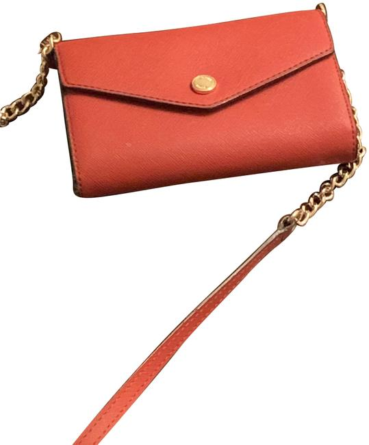 Item - Wallet Size Red Leather Cross Body Bag