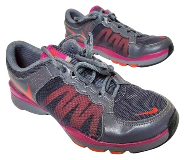 Item - Pink and Gray Flex Tr2 Sneakers Size US 7 Regular (M, B)
