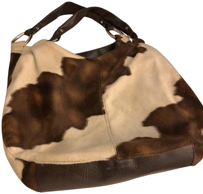 Item - Brown Fleece Hobo Bag