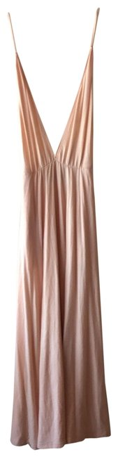 Item - Peach Knit Long Casual Maxi Dress Size 4 (S)