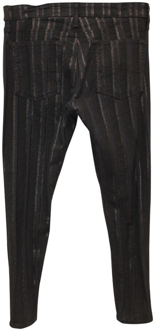 Item - Black Stretch The Farrah Ankle High Rise Jeans 31 30 Pants Size 10 (M, 31)