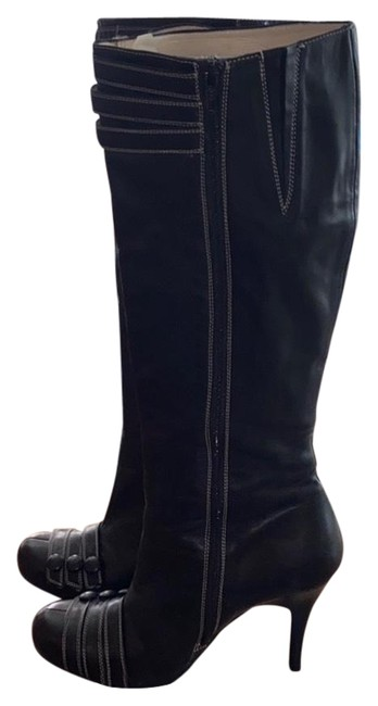 Item - Black Knee High Boots/Booties Size EU 40 (Approx. US 10) Regular (M, B)